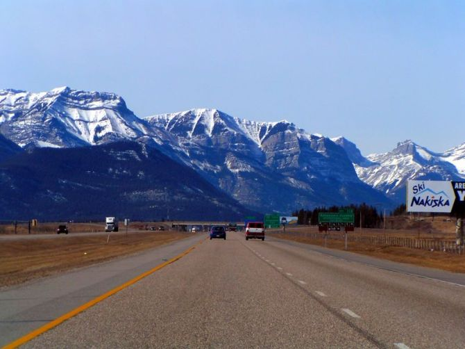 Rockies near Banff, Alberta