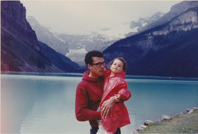 Allison and Garry, Lake Louise, Alberta, 1969