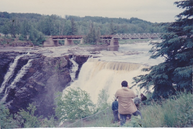 Kakabeka Falls, the Niagara of the North, 1969