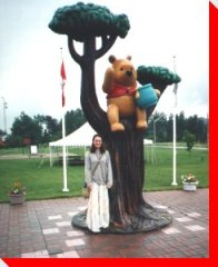 Winnie the Pooh, White River, Ont
