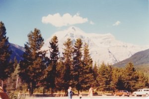 Mount Robson, at Hwy, 16, The Yellowhead Route, B.C.