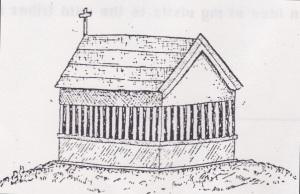 Modern tomb