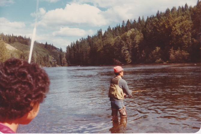 Bushman's break, Stellako River