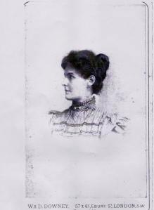 Mary Girvan, Daughter of William and Margaret Parker Girvan