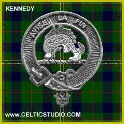 Kennedy Tartan with Badge