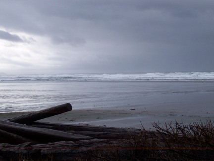 Winter on Long Beach, Vancouver Island