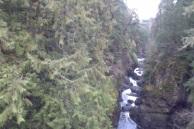 Englishman's Falls, near Parksville, Vancouver Island