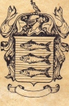 Family Crest from South Ayrshire, Scotland