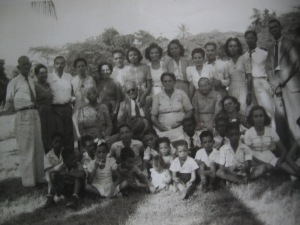 Family Gathering circa 1947