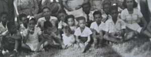 Undifferentiated Mass of Pickney, Cousins and Siblings, late 1940s