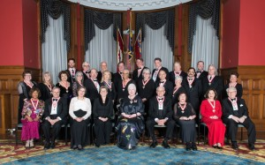 The Lieutenant Governor invested 27 remarkable Ontarians into the Order of Ontario, the province's highest honour.​